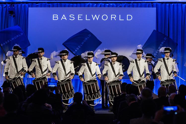 cerimonia di inaugurazione Baselworld, Marzo 2017 - sea-dweller